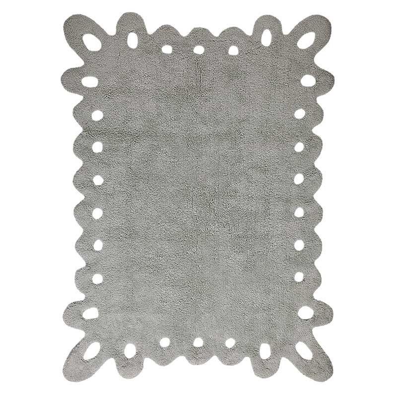 Alfombra Lace gris 120x160cm