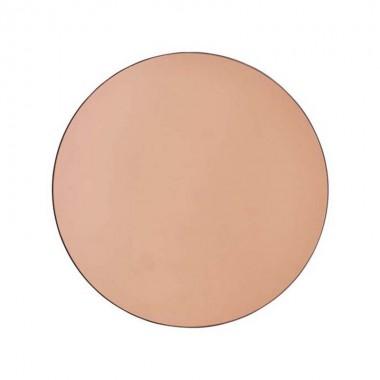 Espejo Vieste rosa Ø80cm