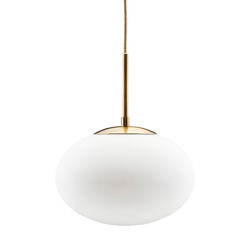 Lámpara Opal blanco Ø30cm