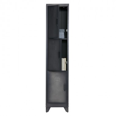 Armario Locker, negro