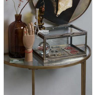 Mesa auxiliar Goddess, latón