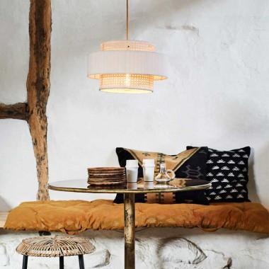 Lámpara de techo Covet, blanco