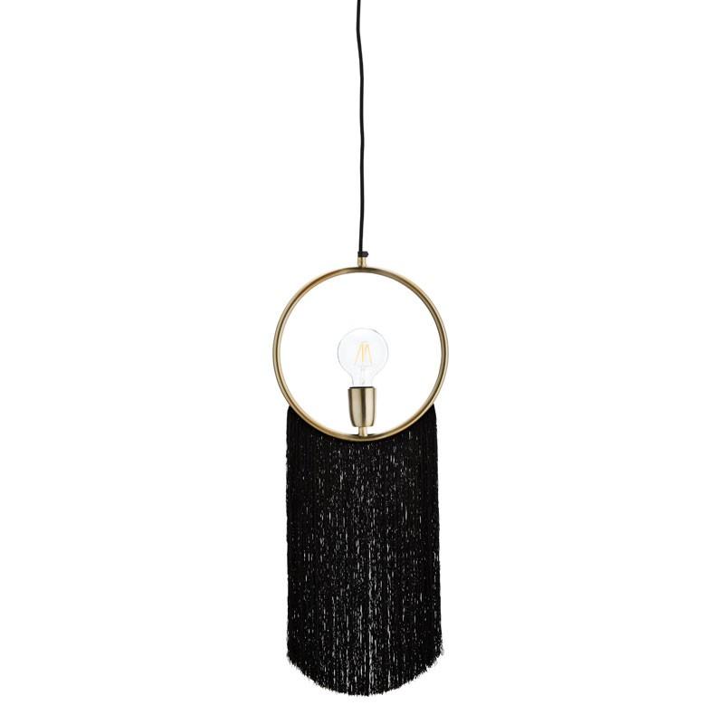 Lámpara de techo Ring, latón