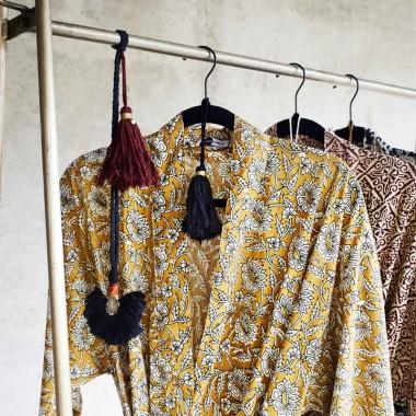 Kimono Bouquet, mostaza