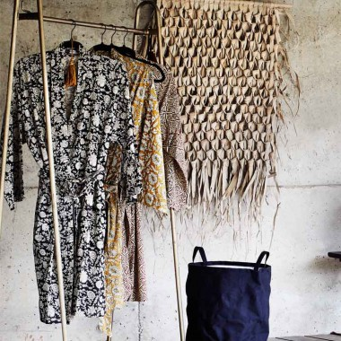 Kimono Bouquet, negro