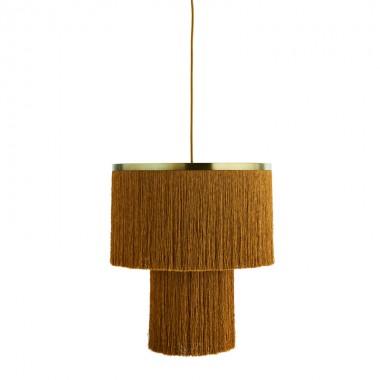 Lámpara de techo Tassel, mostaza