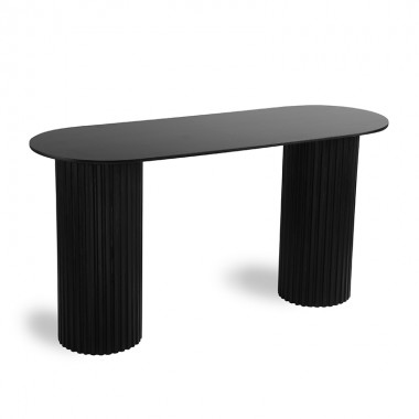 Consola Pillar, negro