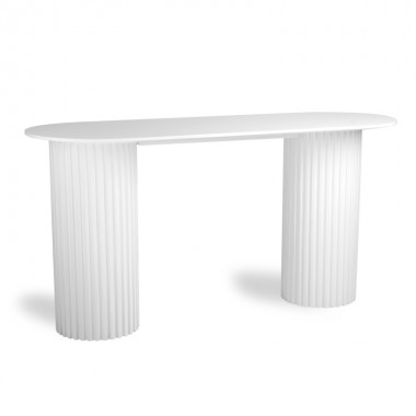 Consola Pillar, blanco