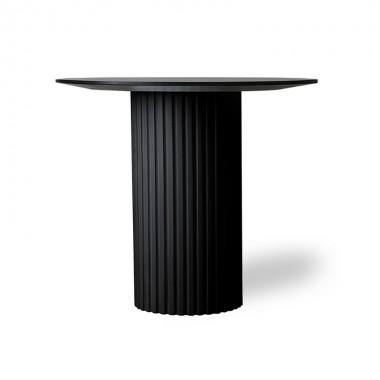 Mesa auxiliar Pillar, negro