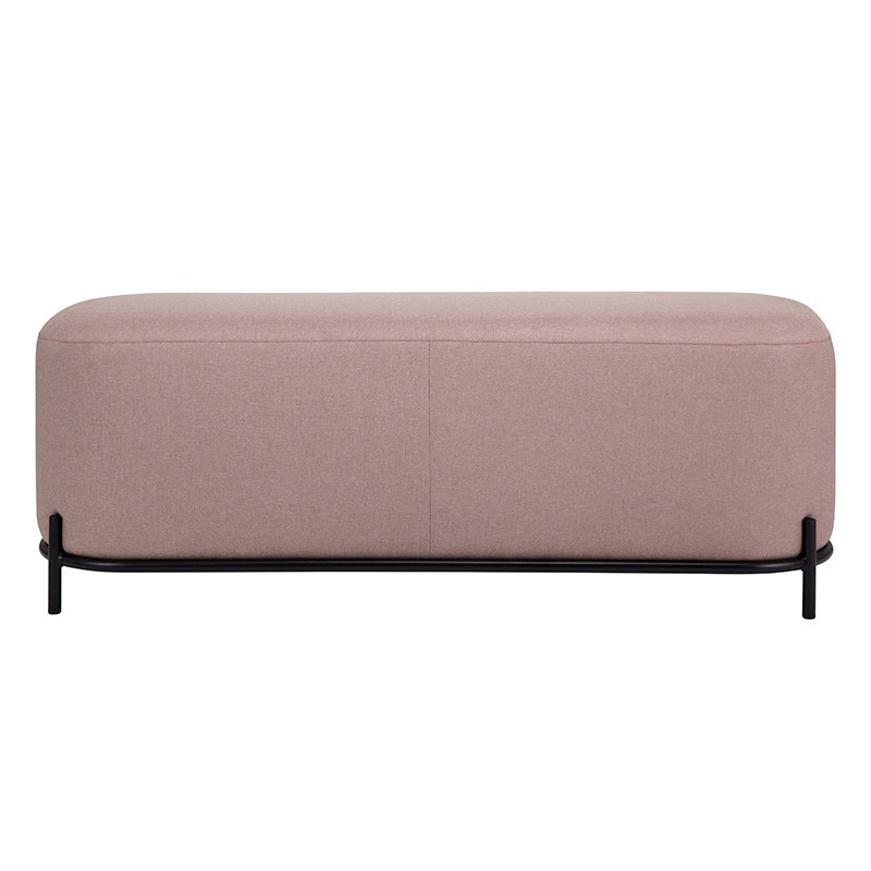 Puf Old pink 120cm