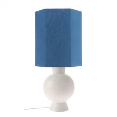 Base lámpara sobremesa Amphora M, blanco