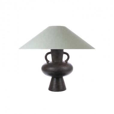 Pantalla lámpara sobremesa Triangle L, verde