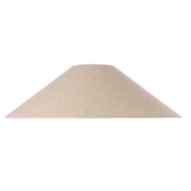 Pantalla lámpara sobremesa Triangle L, marfil