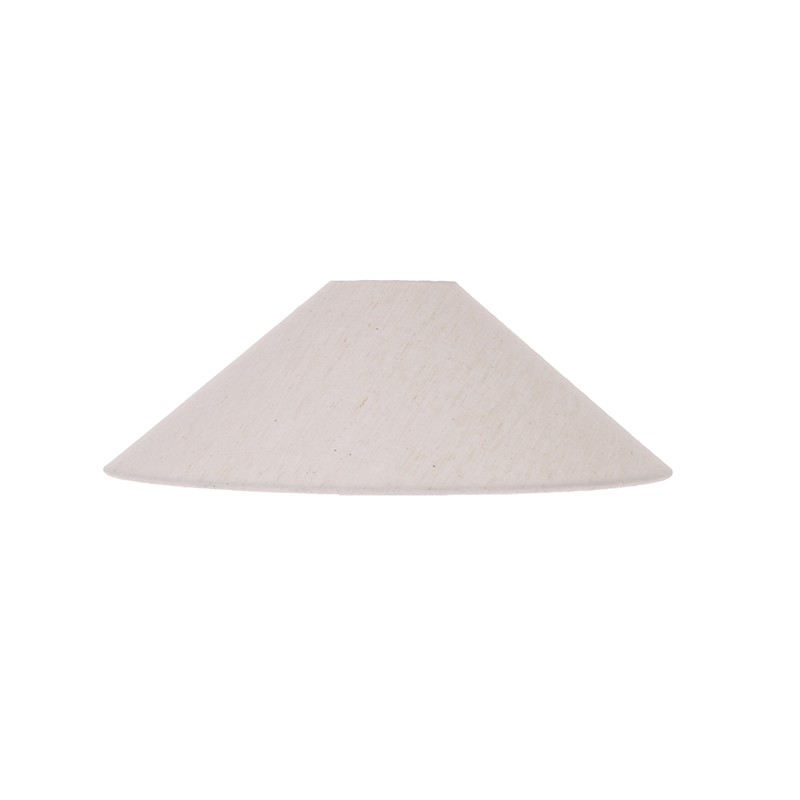 Pantalla lámpara sobremesa Triangle S, marfil