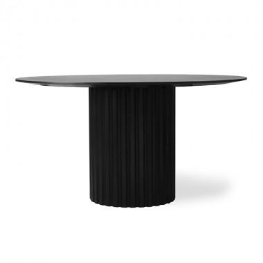Mesa de comedor Pillar, negro