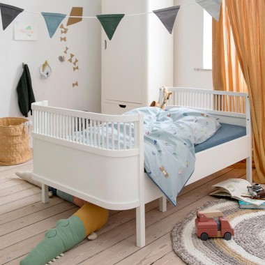 Cama Junior, blanco