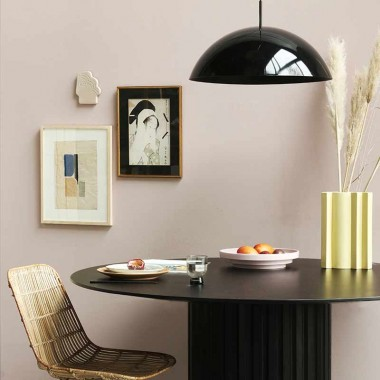 Lámpara techo Cupola, negro