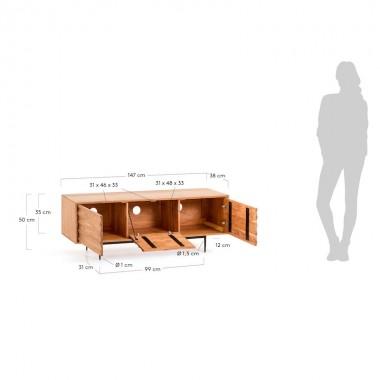 Mueble TV Delia 147cm