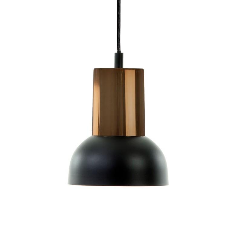 Lámpara de techo Indira, negro