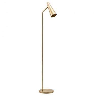 Lámpara de pie Precise, latón