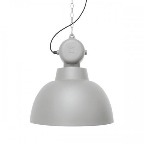 Lámpara Factory L, gris claro mate