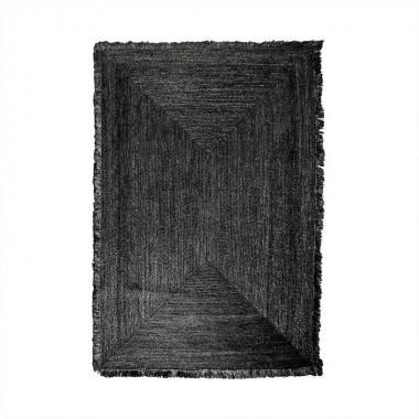 Alfombra Kisai 200 x 300cm, negro