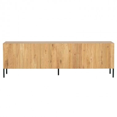Mueble TV Gravure, roble natural