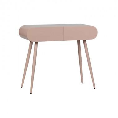 Mesa auxiliar Flo, rosa palo