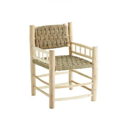 silla madera eucaliptus