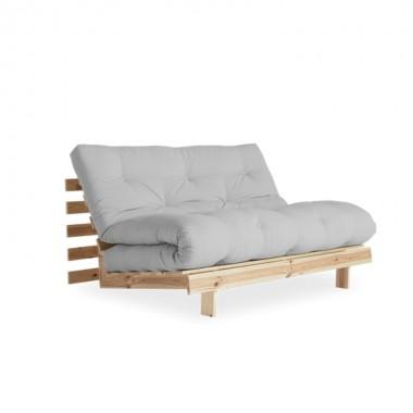 Sofá cama Root 140, gris claro
