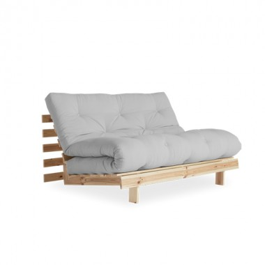 Sofá cama Roots 140, gris claro