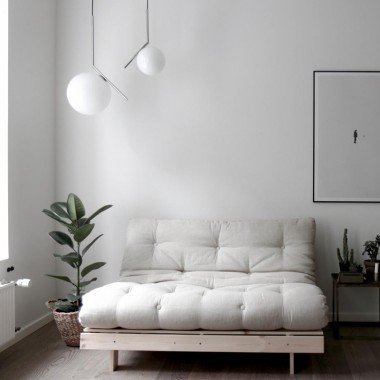 Sofá cama Roots 140, lino