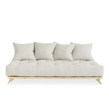 Sofá cama Senza, natural