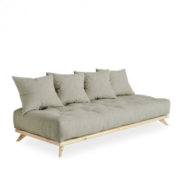 Sofá cama Senza, lino