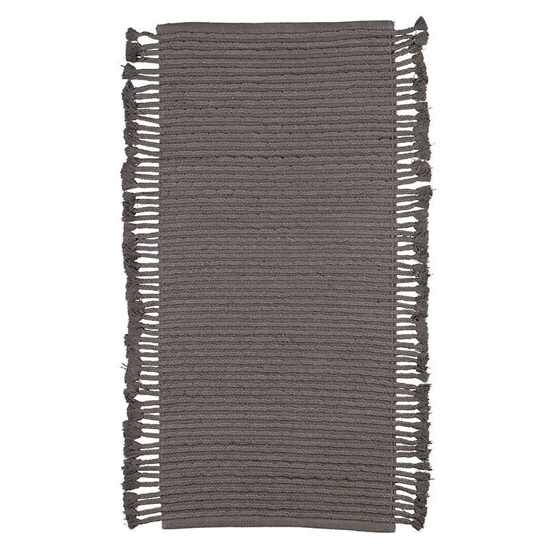 alfombra 170x 240 grafito algodón