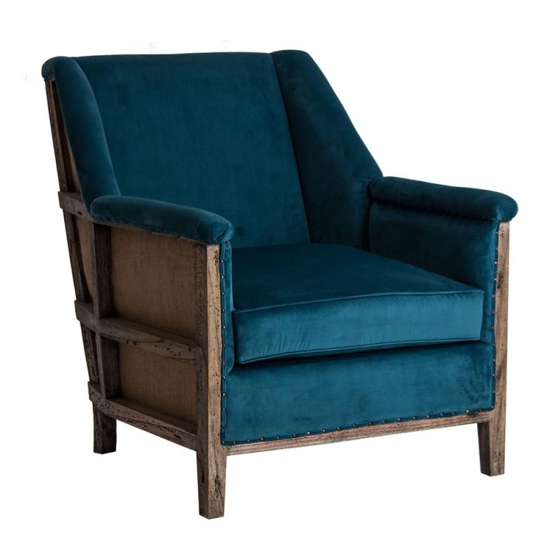 sillón vintage colonial
