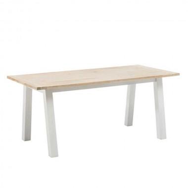 mesa comedor blanca madera