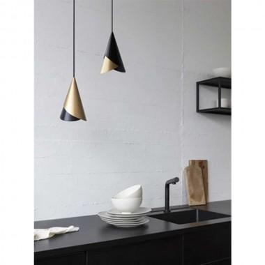 Lámpara Cornet negra