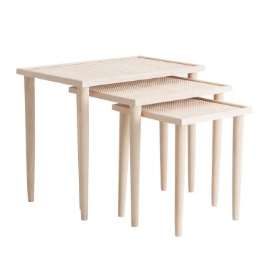 Set mesas auxiliares Tsaki