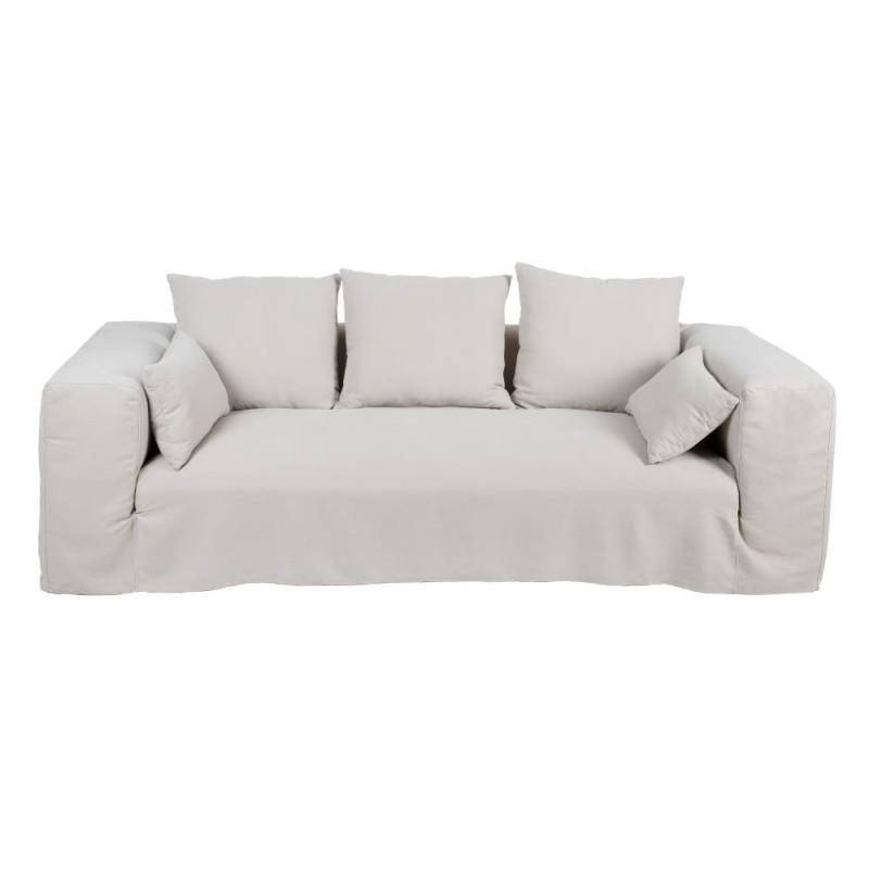 sofa lino sand