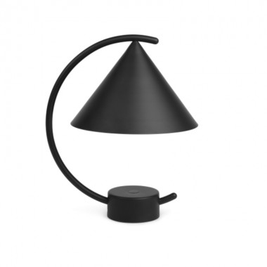 Lámpara sobremesa Meridian, negro