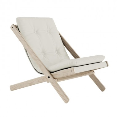 Silla plegable Boogie, natural