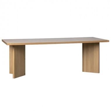 Mesa comedor Angle 220cm, roble