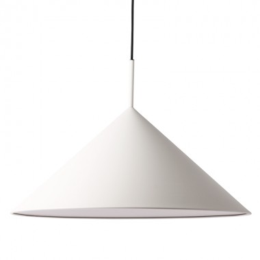 Lámpara Angle L, gris cálido
