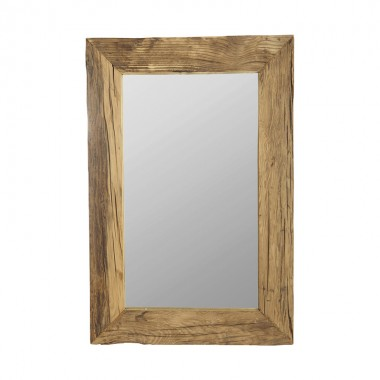 Espejo Pure, madera reciclada