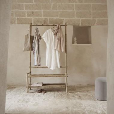 Perchero ropa Bambú