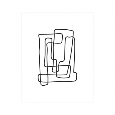 Lámina Lines, 50x70cm