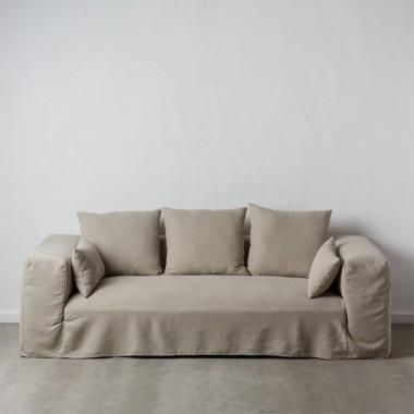 Sofa Ibiza lino sand 245cm