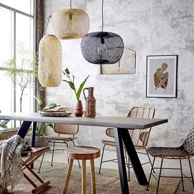Lámpara de techo Bambú