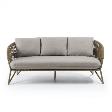 Sofá Branzie 180cm, marrón